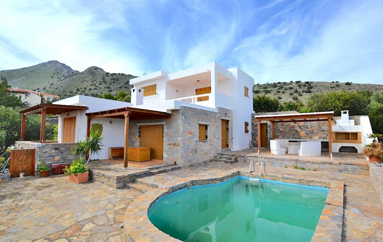 Villa With Stunning Views And Apartment. - Villas on Crete